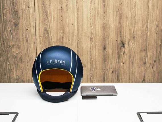Hochu Rayu представляет звукоизолирующий шлем для работы