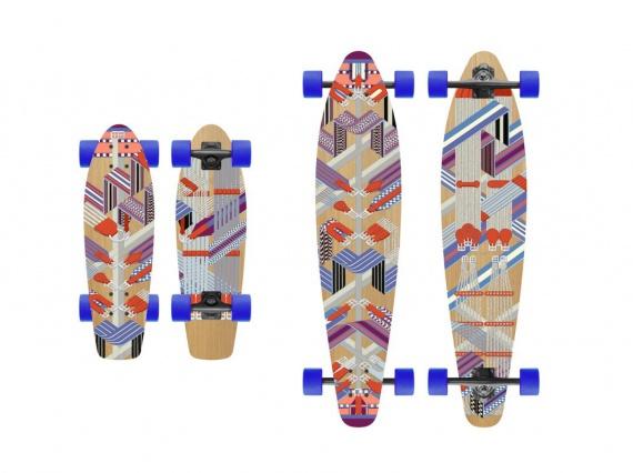 Hermès готовит коллекцию скейтбордов