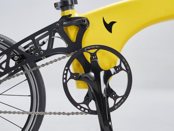 Дизайнеры стартапа Hummingbird Bike придумали ультралегкий велосипед