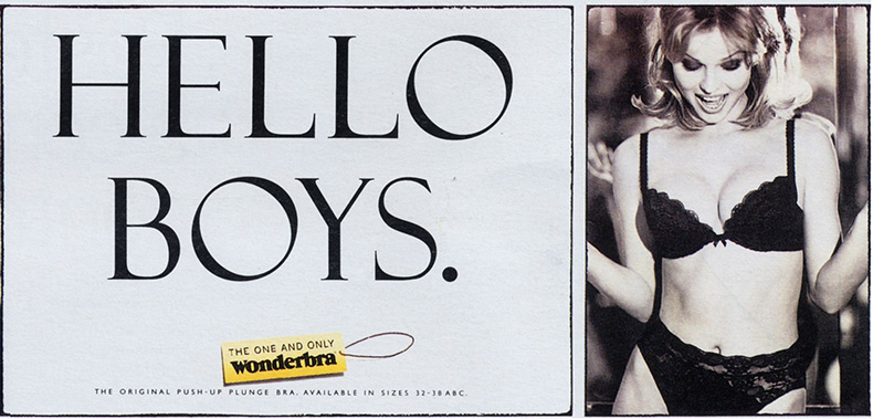 «Hello Boys», Wonderbra, 1993