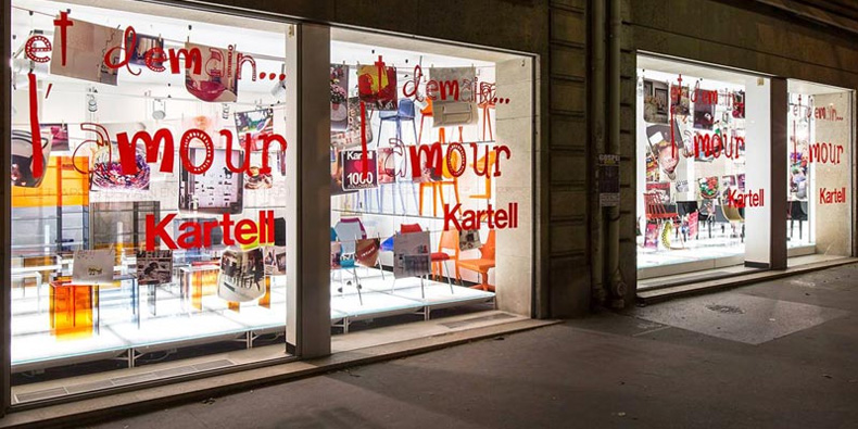 Kartell: New look, new style, new experience