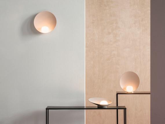 Дизайнеры сделали светильники в виде жемчужины