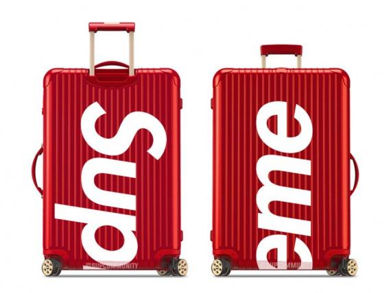 Supreme и RIMOWA представляют коллекцию чемоданов