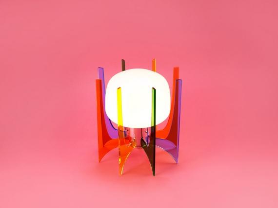 купить разноцветную лампу