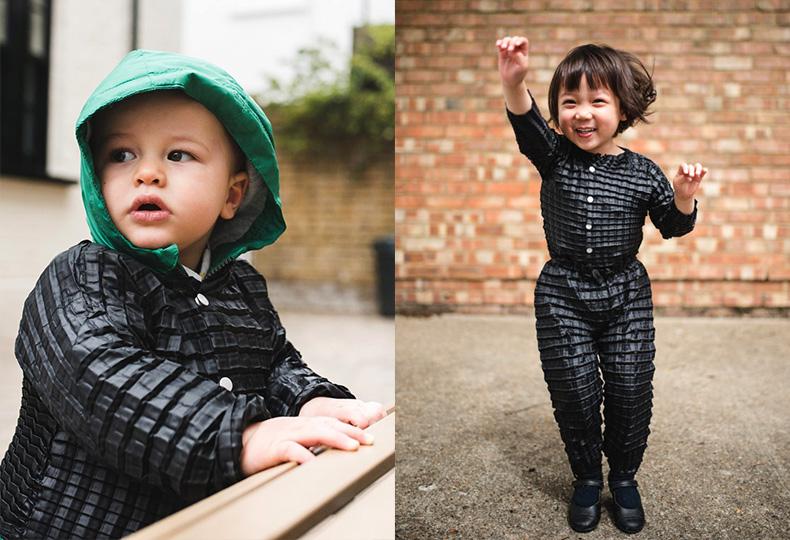 Одежда-оригами Райана Ясина