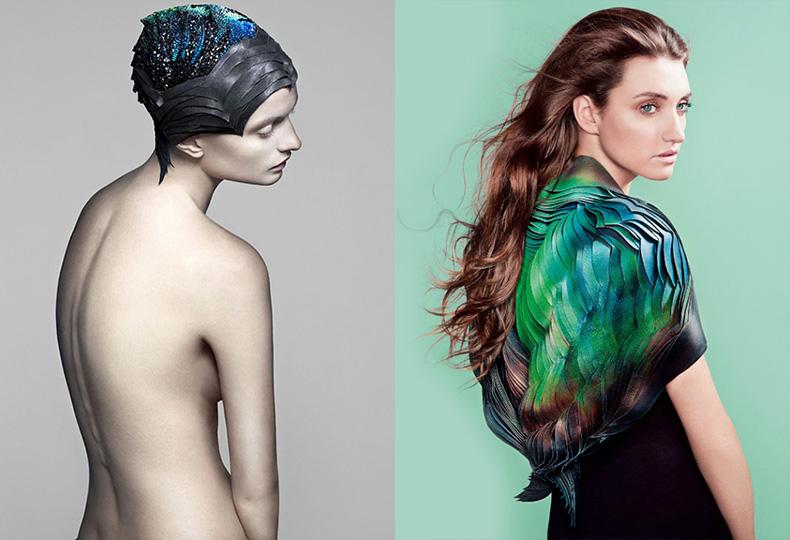 Одежда, которая меняет цвет, Лорен Боукер
