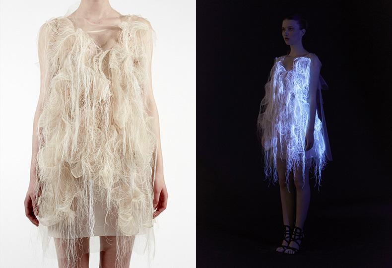 Интерактивные платья Юинг Гао