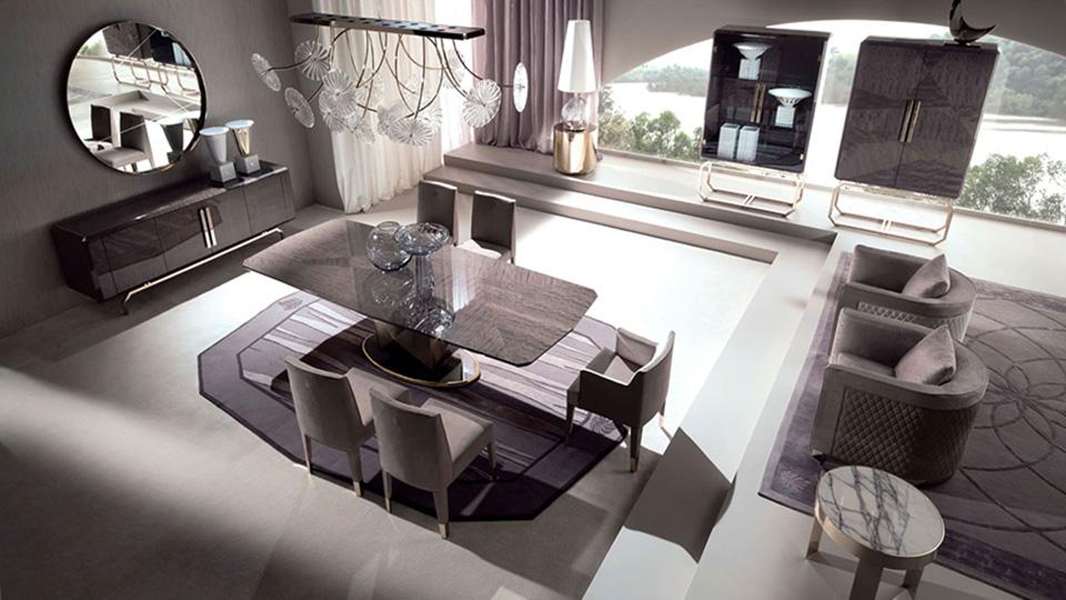 Простая геометрия: новая коллекция мебели Giorgio Collection