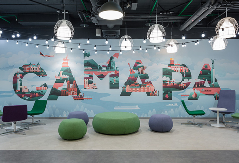 МeгаФон / Архитектурное бюро UNK project. Best Office Awards 2018 : Дизайн-идея