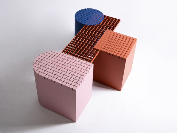 Дизайнеры из Антверпена сделали скамейку, вдохновленную урбанизмом