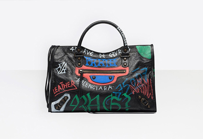 Сумка из Graffiti Collection, Balenciaga