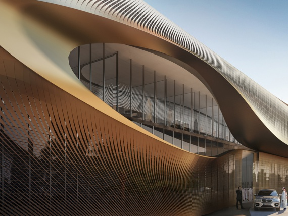 Zaha Hadid Architects возведут музей в Саудовской Аравии