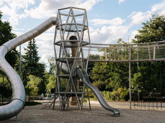 Ի Գորկու այգում կա ամենամեծ խաղահրապարակ է Ռուսաստանում
