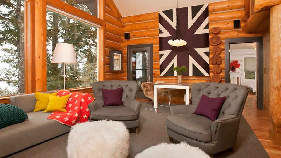 Деревенский интерьер: фото варианты стиля внутри дома