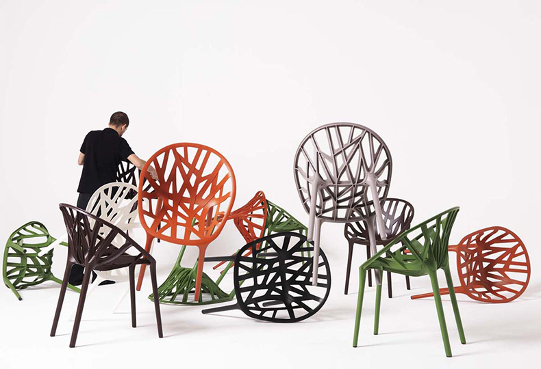 Vegetal chair, Ронан и Эрван Буруллек для Vitra