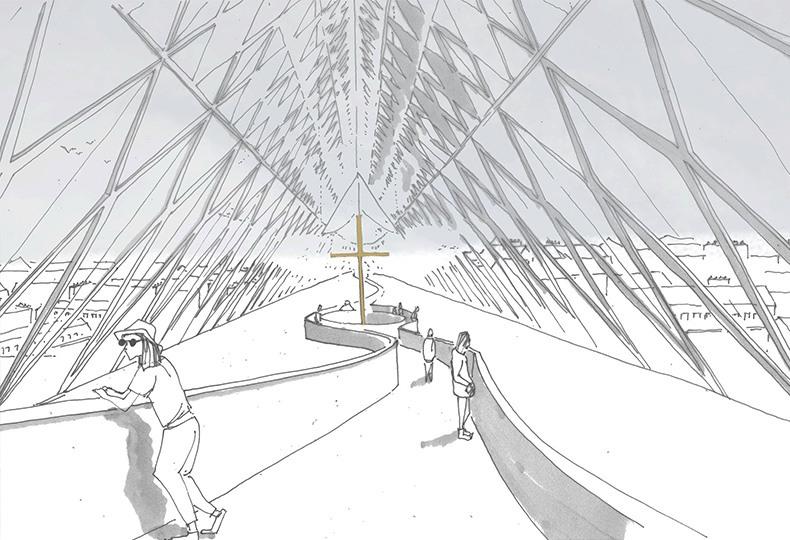 Проект архитекторов Godart + Roussel по восстановлению Нотр-Дама
