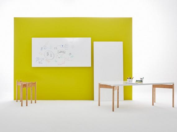 Moving Walls придумали офисный стол-трансформер