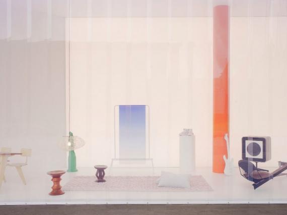 Вирджил Абло придумал инсталляцию для Vitra