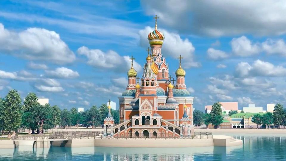 Противники возведения Храма-на-воде продолжают борьбу заГородской водоем