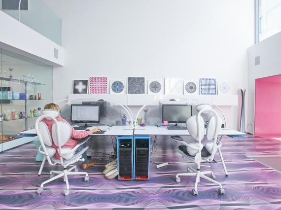 Карим Рашид разработал коллекцию офисной мебели для Newform Ufficio