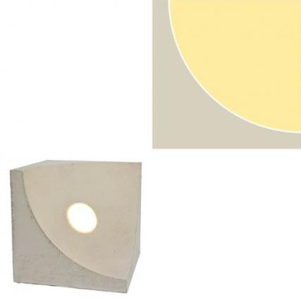 Александра Пикунова представила новый светильник из бетона