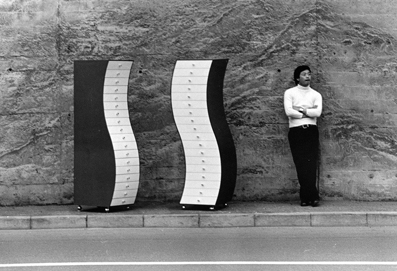 Drawers in a Irregular Form, 1970