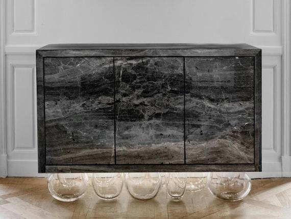 Дизайнер Матье Леаннер представил «антигравитационную» коллекцию мебели