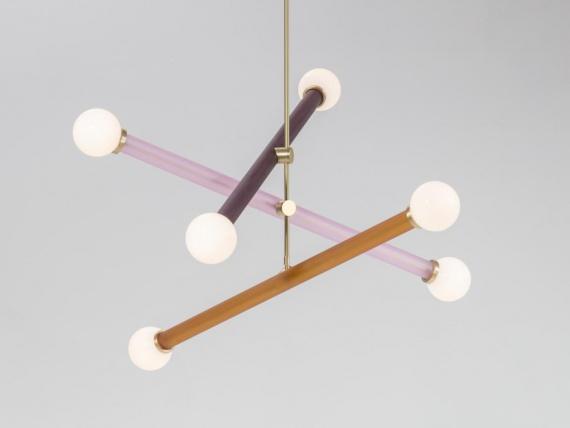 Дизайнеры студии Trueing представили новую модель светильника