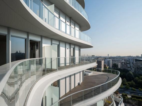 В Париже достраивается первое европейское здание MAD