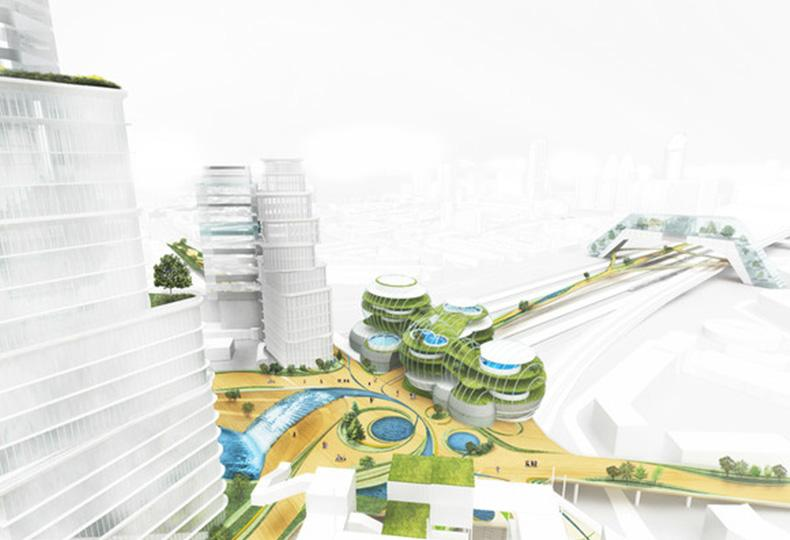 Коммуникационный центр City of the future в Гааге, Нидерланды