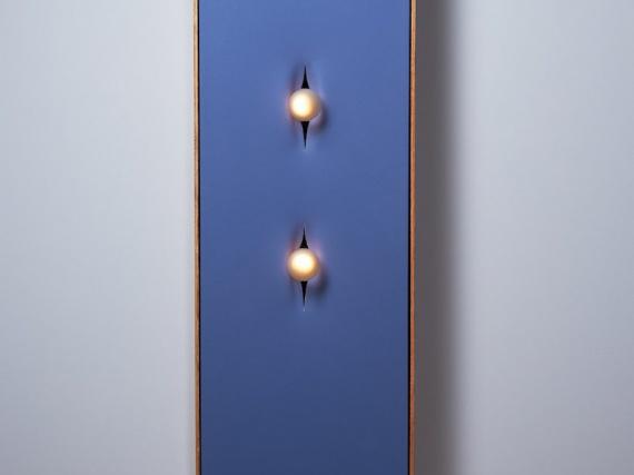 PELLE показали светильник-посвящение Лучо Фонтана