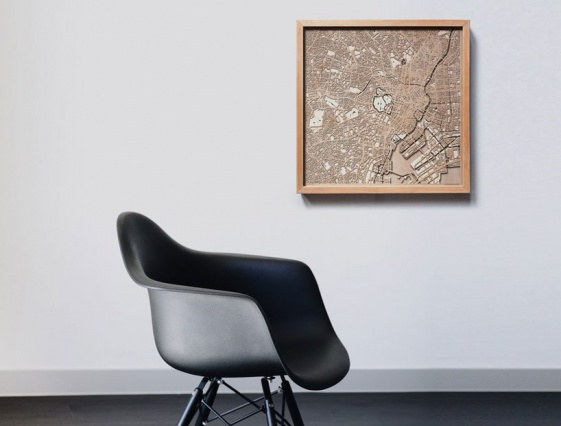 Хуберт Рогуски перенес планы любимых городов на 3D-карты