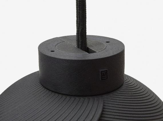 Дизайнер Маттийс Кок напечатал светильник на 3D-принтере