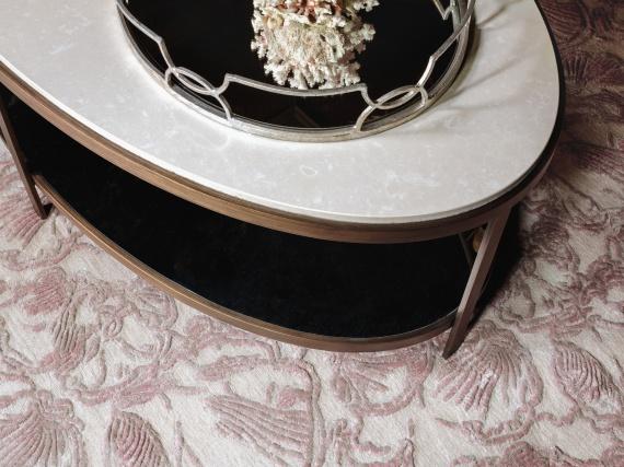 Анна Агапова и Олег Клодт представят свою коллекцию ковров ручной работы