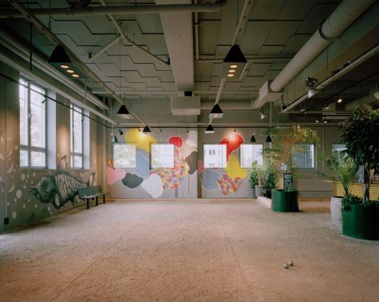 Bornstein Lyckefors создали интерьеры ресторанов для игры в петанк