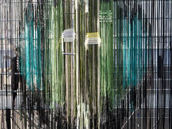 Хелла Йонгериус сделала масштабную инсталляцию для фонда Lafayette Anticipations