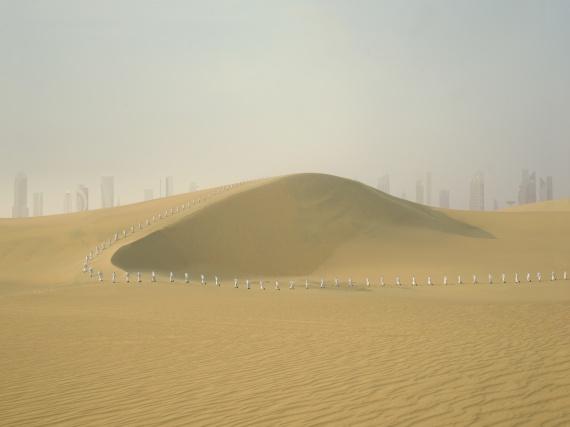 В рамках Cosmoscow пройдет выставка фотографии и инсталляций «Белое солнце»