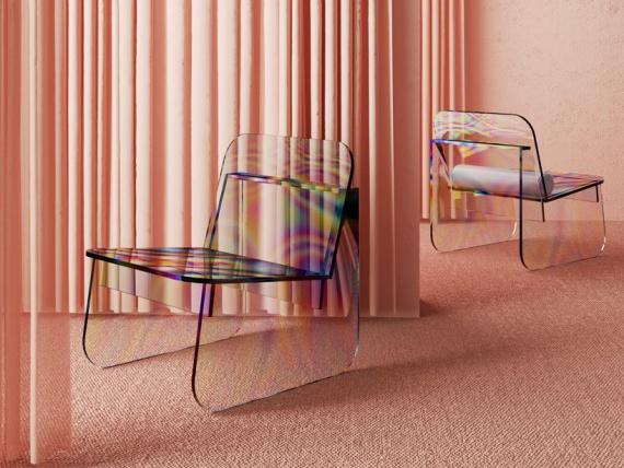 Артур деМенезес создал «масляный» стул