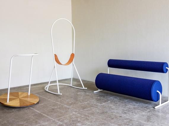 Джо Парр придумал коллекцию мебели, вдохновленную детскими площадками