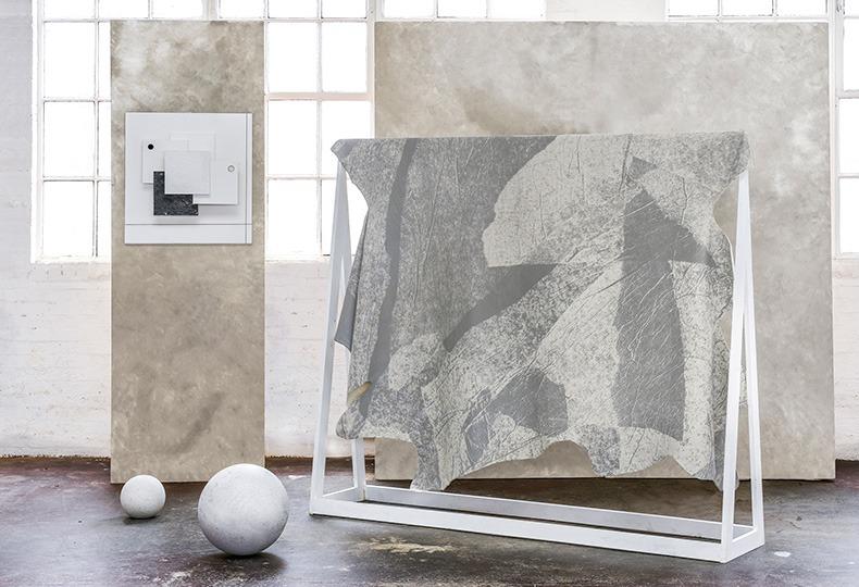 Calico Wallpaper. Цифровая печать на коже от Bill Amberg Studio