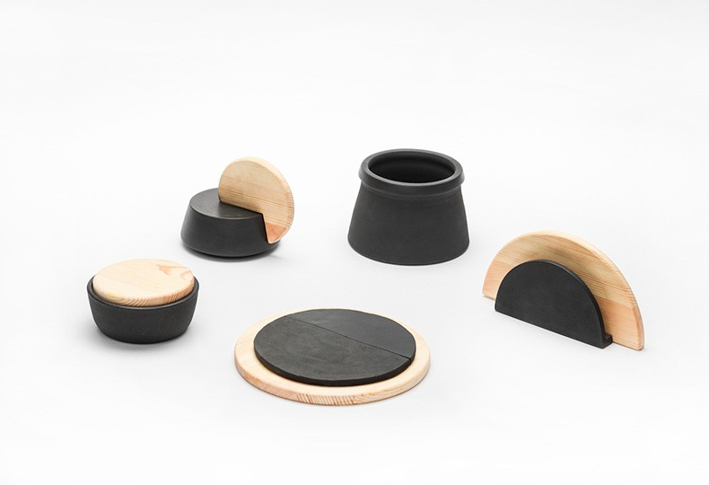 Набор аксессуаров для столовой «Луна» / «Moon» Екатерины Закировой. Российские дизайнеры на Beijing Design Week