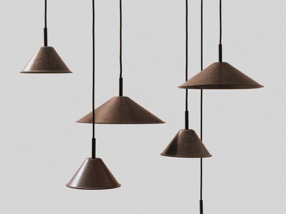 Итальянские дизайнеры сделали лампы из конопли, табака и вина
