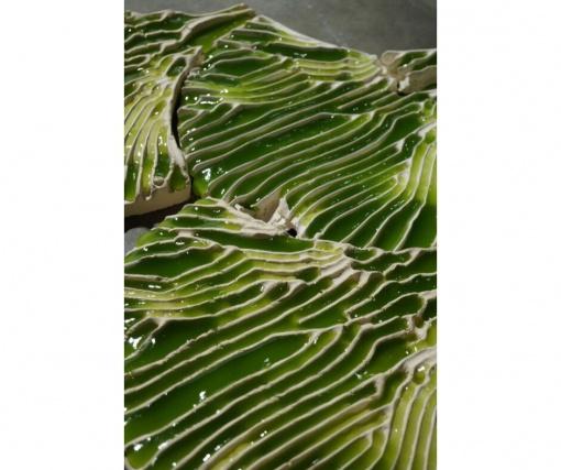 Bio-ID Lab создали глиняную плитку из водорослей, очищающую воду от вредных примесей