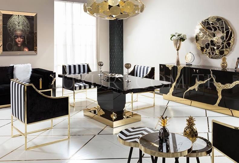 Кресло в стиле ар-деко, Luxury Line