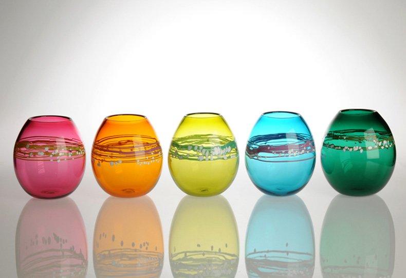 Colour Pots. Трофейное стекло Аманды Дзедзич