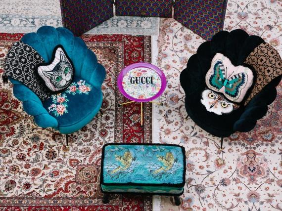 Коллекция Gucci Décor в BoscoCasa
