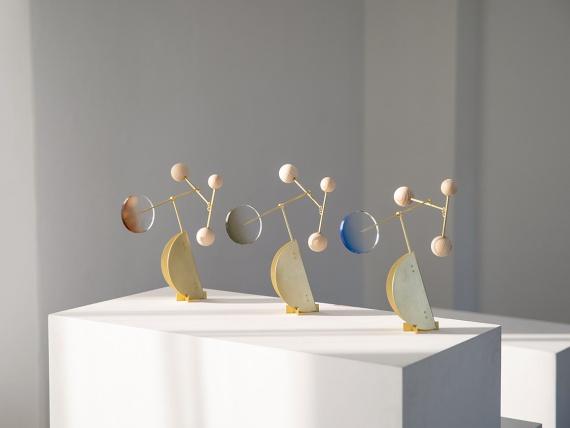 Дизайнеры из Сеула сделали серию арт-объектов, движущихся под воздействием воздуха