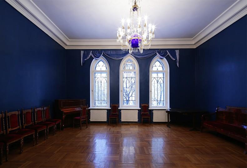 Синяя гостиная, Центральный дом архитектора