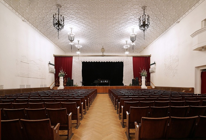 Большой зал, Центральный дом архитектора