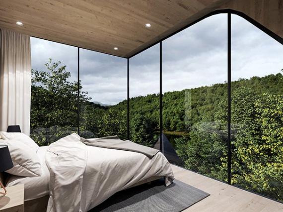 Миланские архитекторы создали «домики на дереве» для отельного комплекса в США